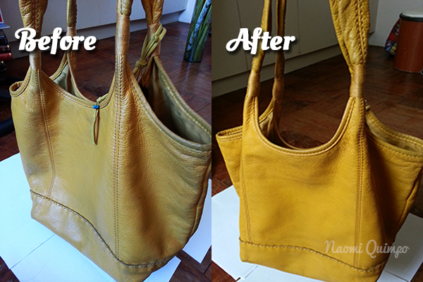 I Was Reorganizing My Bags When Remembered This Small Project Did Back In February 2017 Had Been Using Mustard Yellow The Sak Tote To School